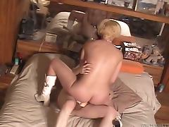 That blondie is so ugly and she loves fucking old men