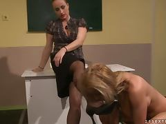 The Teacher's Slut feels hot about that punishment