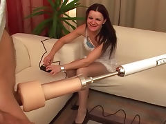 Radka Z sucks that horny dick with pleasure