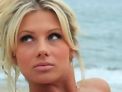 Angelina Polska is a slender European blondie with hot shapes