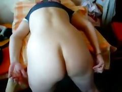 Amateur sex with a nasty girl getting a huge cock from a fat fella