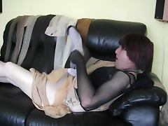 Pantyhose encasement playtime