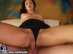 Cameron Cruz gets her pussy licked and fucked in a few positions