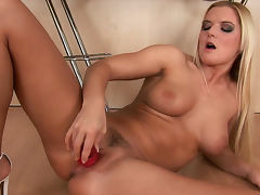 All, Blonde, Boobs, Dildo, Masturbation, Natural