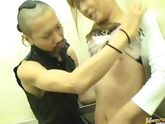 Pretty Japanese Housewife Gets Fucked In Elevator porn video