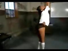 Kinky Ebony Schoolgirl