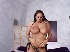 Gianna Michaels cuming for you porn video