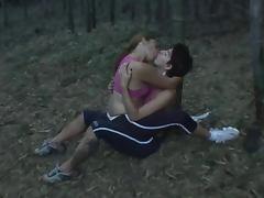 Lizandra and Karla kissing