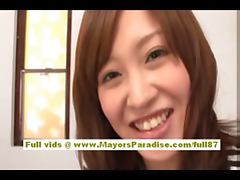 Rika Sugasaki asian model gets licked and does blowjob
