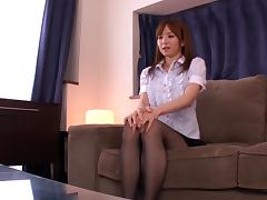 Fiery Japanese Vixen Getting A Rough Fuck