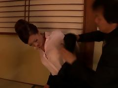 Misaki Shiraishi's First Threesome With a Guy And His Girlfriend