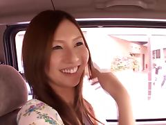 Japanese masseuse Yui Tatsumi also sucks client's cock