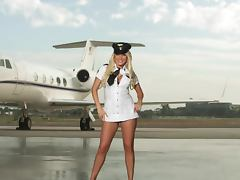 Uniform, Blonde, Erotic, Outdoor, Uniform