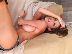 All, Babe, Big Tits, Boobs, Brunette, Dildo