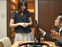 Japanese wife Rina Kato gets fucked by two lewd guys