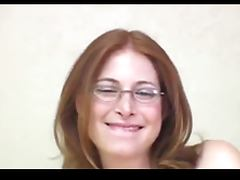 Glasses, Amateur, Glasses, Redhead, Nerd