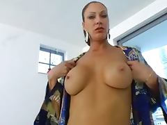Hot MILF fucks younger guy
