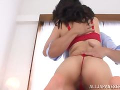 Spectacular Marina Isshiki Does a 69 and Titty Fucks Before Sex