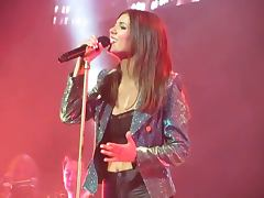 Victoria Justice Make it in AMERICA live