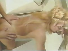 Fabulous Fake Titted Lovette Fucks His Ass First