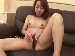 Mature Japanese vixen Kiyoko Tachibana gets Creamed