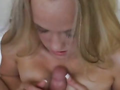 Hot Blonde Brianna Do A Good Blowjob