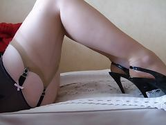 Feet, Amateur, Feet, Mature, Stockings, Mature Fetish