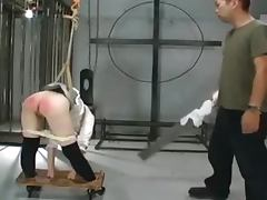 Slapping a sexy Japanese ass till it gets red