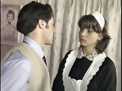 Maid, Interracial, Vintage, Maid