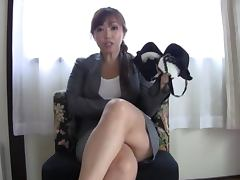 Oiled Up Big Titted Japanese Nana Megumi Gives A Blowjob