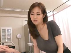 Busty Asian Sayuki Kanno Fucking A Dick with Her Awesome Tits