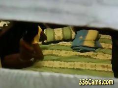 Young Ebony Cristina Pussy Show On Webcam
