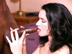 Interracial anal with slutty catherine