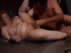 Fat Chick Fucking and getting a Cream Pie