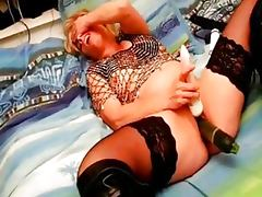 Mature Asian, Boots, Cunt, Dildo, Solo, Stockings