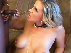 All, Blonde, Blowjob, Cumshot, Interracial, MILF