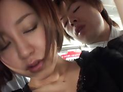 Very nice MILF bus action with hardcore fucking porn video
