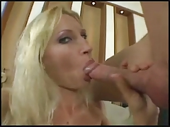 Blonde Milf Mom Fucks A Boy Very Hot