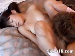 Hardcore japanese loving with model