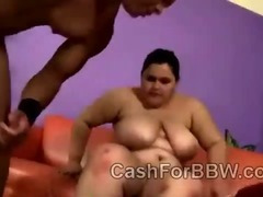 Young fat beauty Karla Lane devours coachs massive tool
