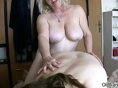 Nasty old women go crazy sucking