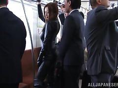 Bus, Asian, Bus, Fingering, Japanese, Latex