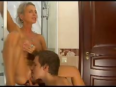 HOT MOM n149russian blonde excited mature milf and young man porn video