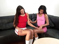 Deny and Eleni use their new toy to satisfy each other
