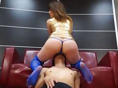 Hot Asian chick Nonoka Momose gets licked and balled