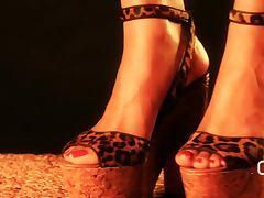 Darla De Leon My Louboutin Platform High Heels