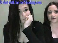 Two hot girls flashing tits yhook
