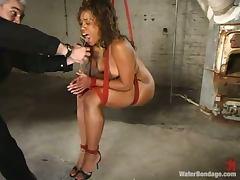 Bondage, BDSM, Black, Bondage, Dildo, Ebony