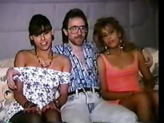 Tonya Cortez and Sicily but the old dude has to join porn video
