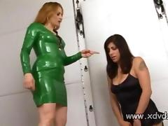 Mistress Gemini Punishes Her Beautiful Slave Talia Monet